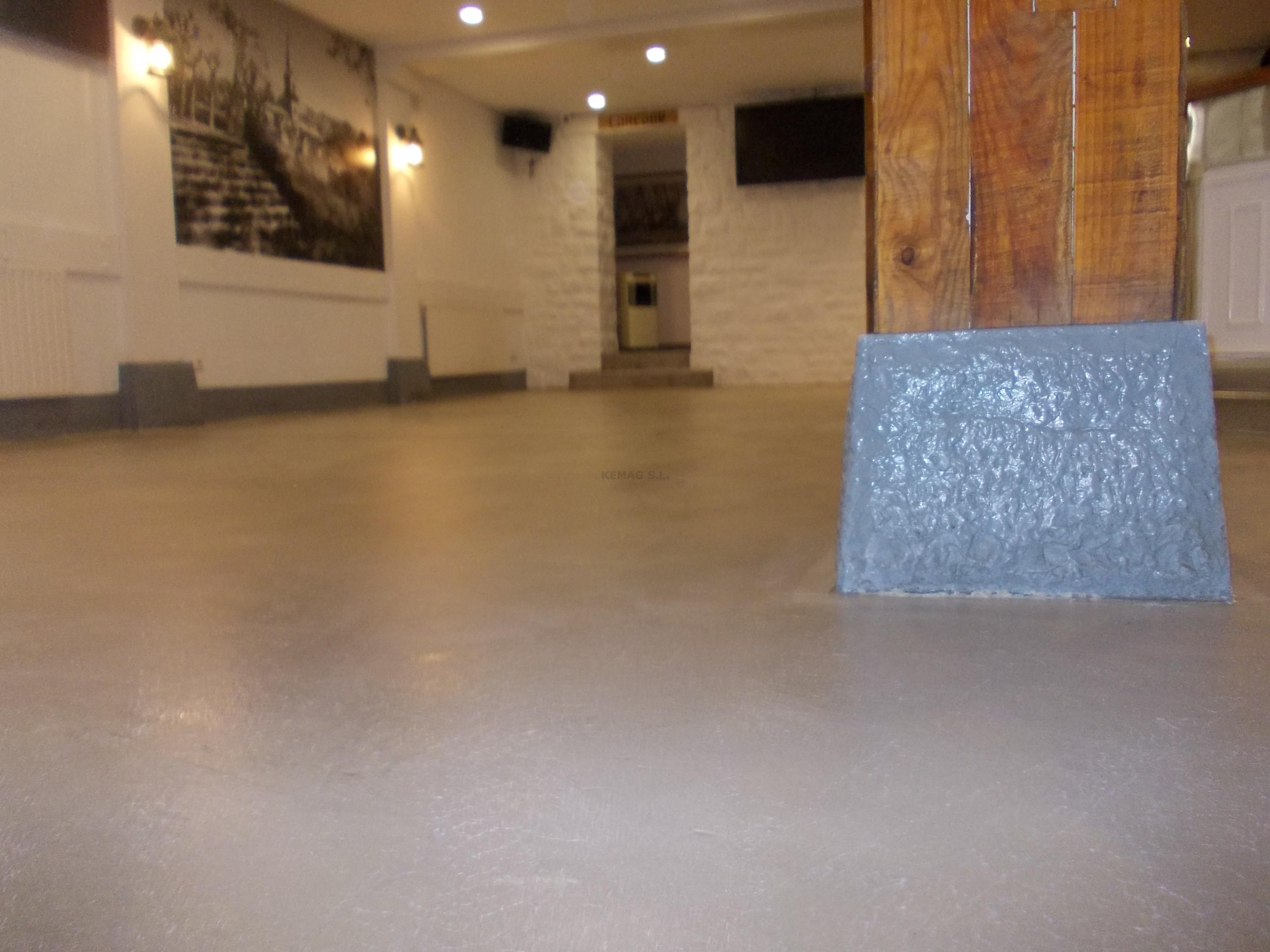 Microcemento en hondarribia guip zcoa kemag pavimentos - Pavimento de microcemento ...