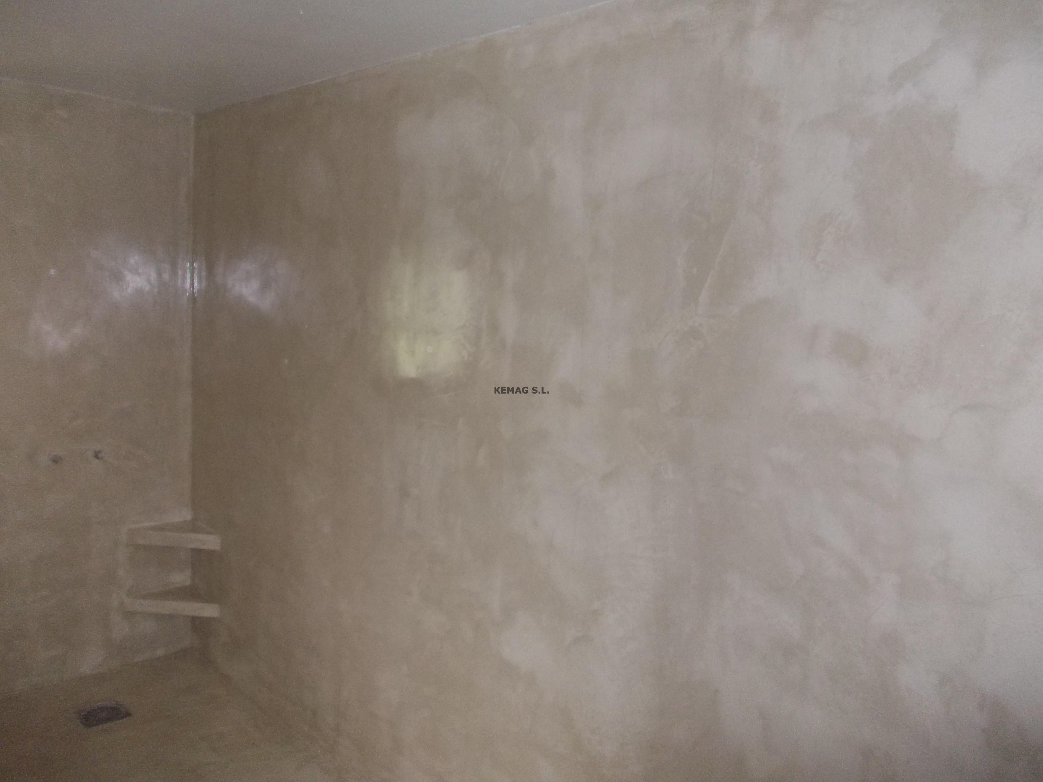 Microcemento en zaldibia guipuzcoa kemag pavimentos - Aplicacion de microcemento ...