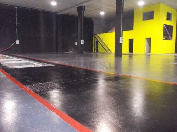Pintura en parking y garajes archivos kemag pavimentos for Pintura epoxi suelos precio