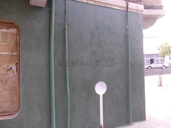 Microcemento en fachadas archivos kemag pavimentos - Microcemento para exteriores ...