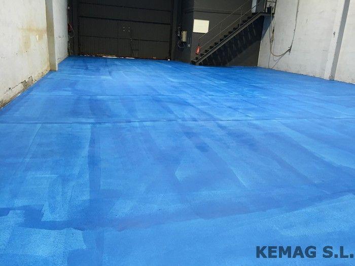 Pintura para suelos epoxi kemag pavimentos for Pintura epoxi suelos precio