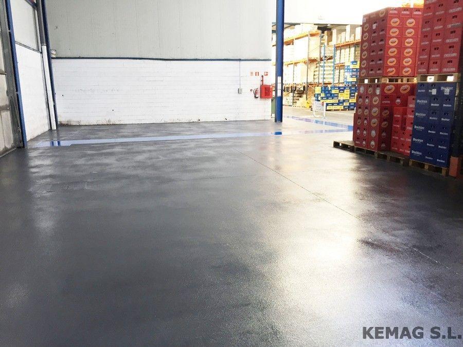 Pintura epoxi antideslizante para suelos kemag pavimentos - Pintura epoxi suelos ...