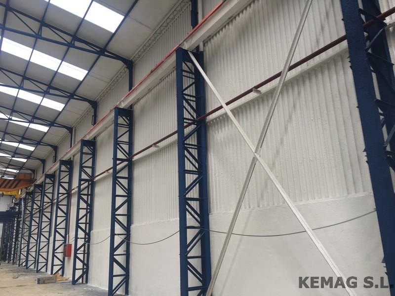 en nuestro siguiente post os enseamos nuestro siguiente trabajo en esta planta industrial la aplicacin de corcho proyectado