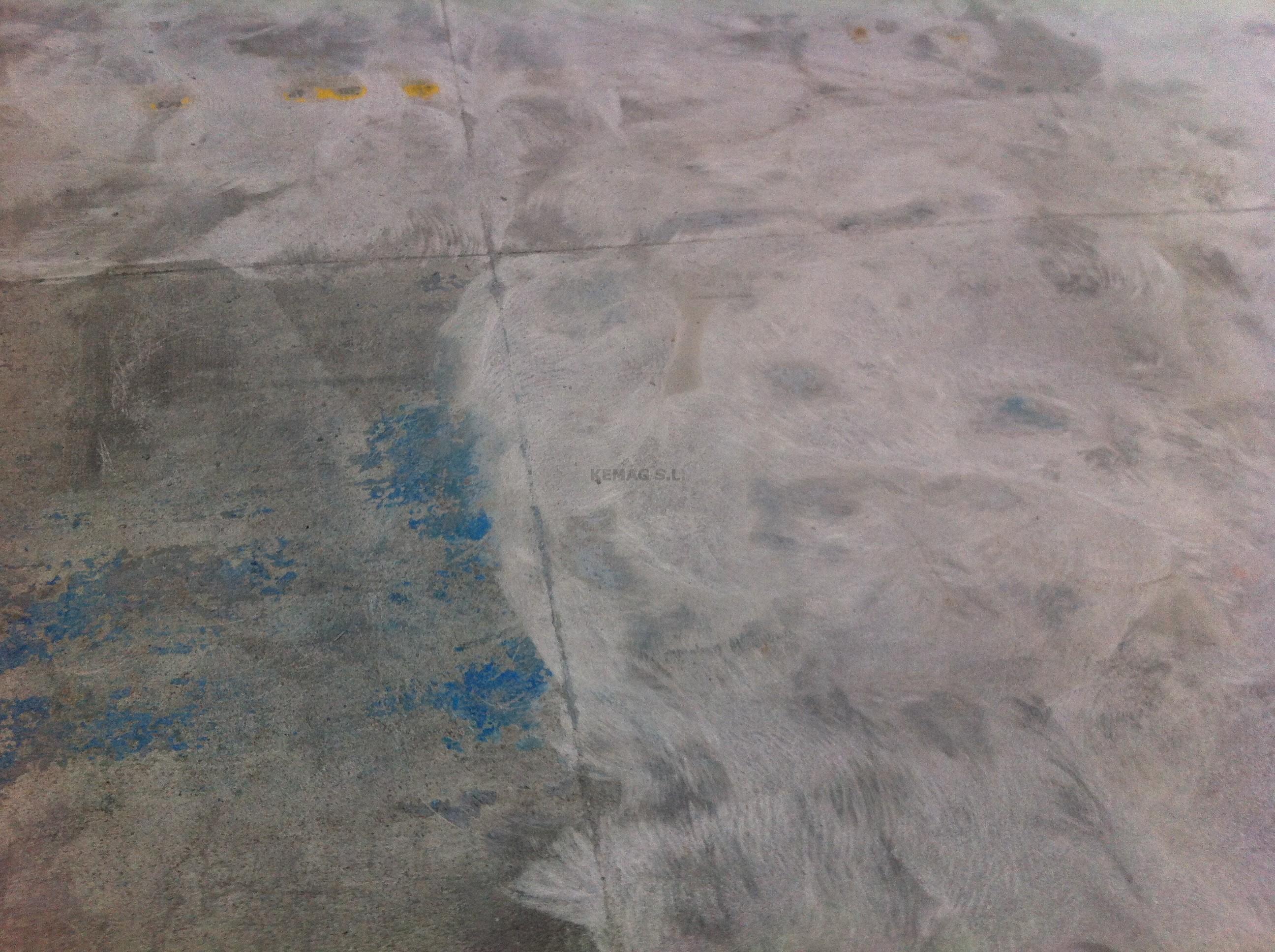 Prepararci n del suelo de microcemento kemag pavimentos - Como aplicar microcemento ...