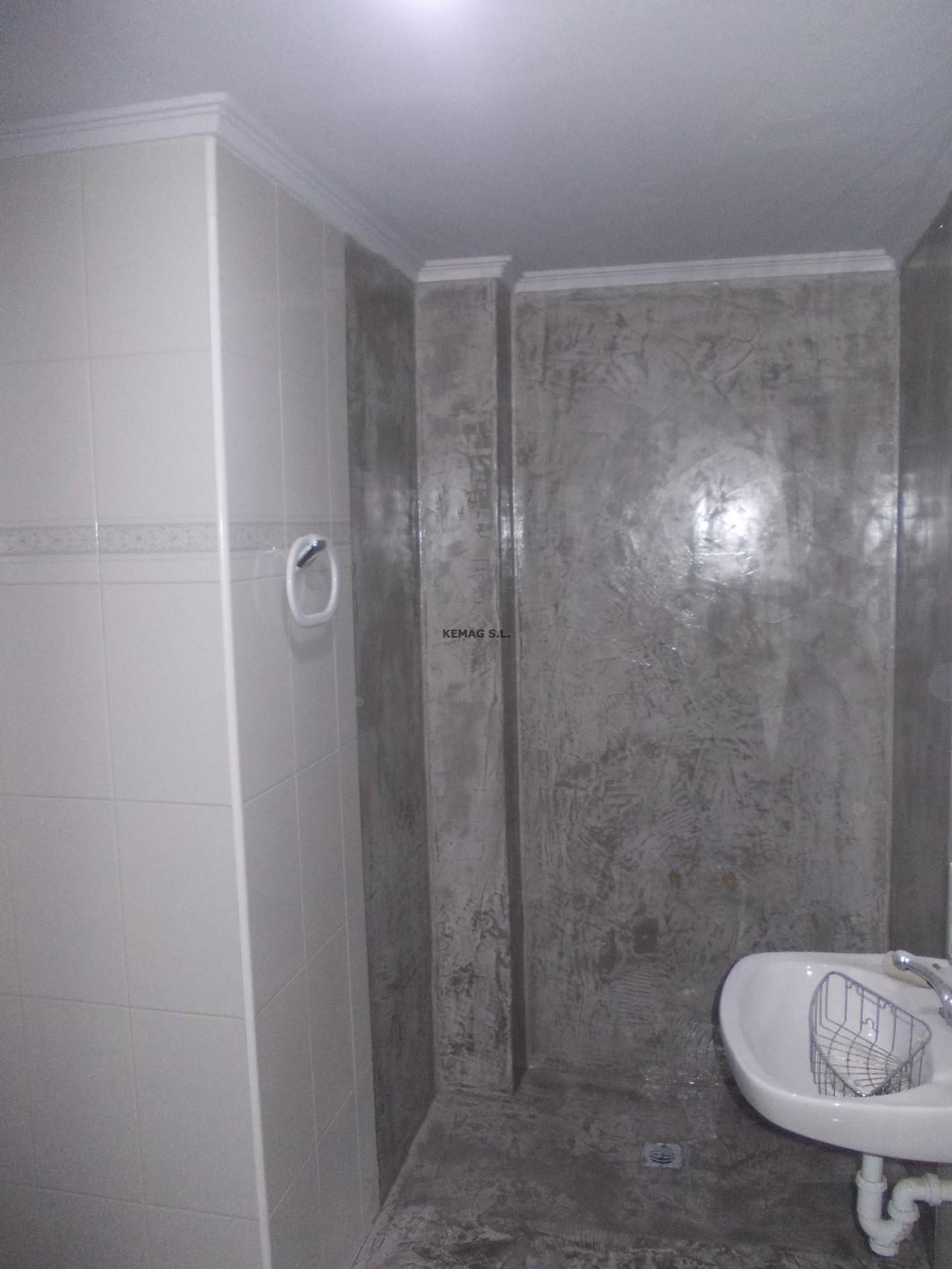 Microcemento en us rbil guipuzcoa kemag pavimentos - Microcemento para paredes ...