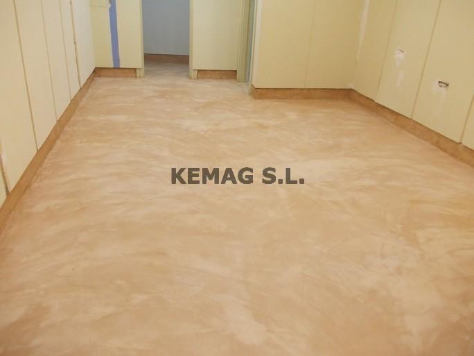 Microcemento en oficinas y locales archivos kemag pavimentos - Suelos de plaqueta ...