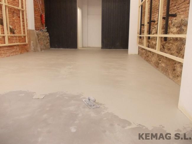 Microcemento en bilbao kemag pavimentos - Pavimento de microcemento ...