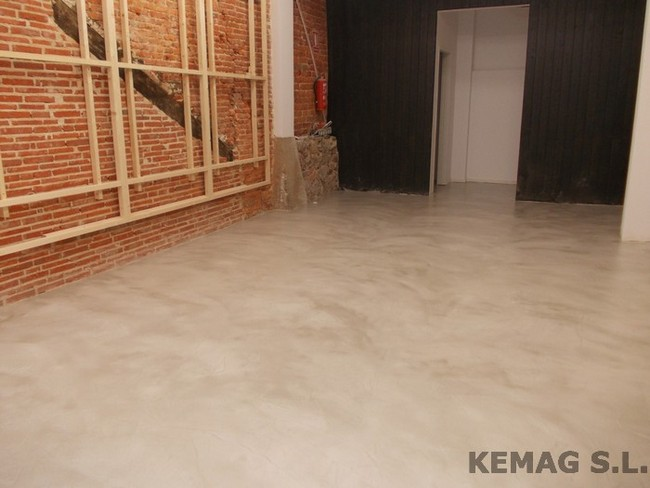 Microcemento en bilbao kemag pavimentos - Precio del microcemento ...