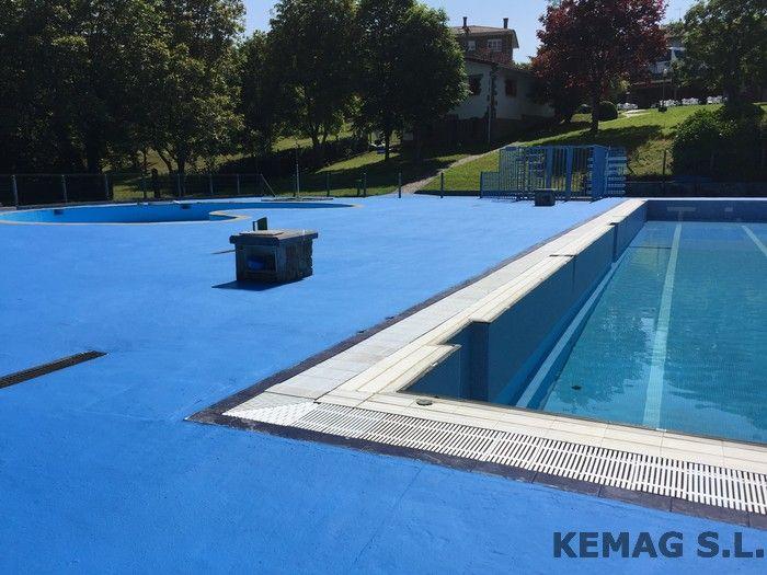 Impermeabilizaciones de piscinas archivos kemag pavimentos for Pavimento para piscinas