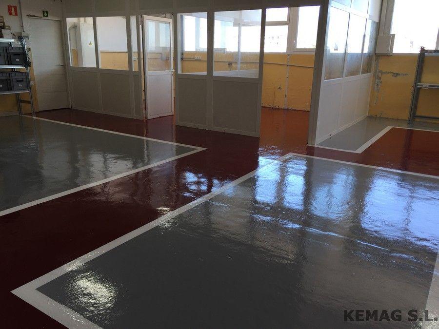 Suelo pintura epoxi guipuzcoa kemag pavimentos - Pintura epoxi suelos ...