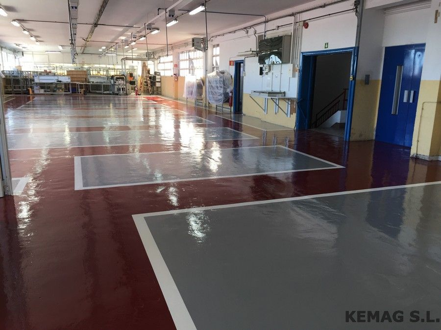 Suelo pintura epoxi guipuzcoa kemag pavimentos for Pintura epoxi suelos precio