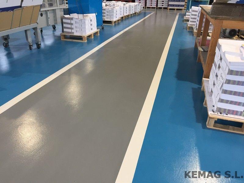 Aplicaci n pintura epoxi archivos kemag pavimentos - Pintura de suelos ...