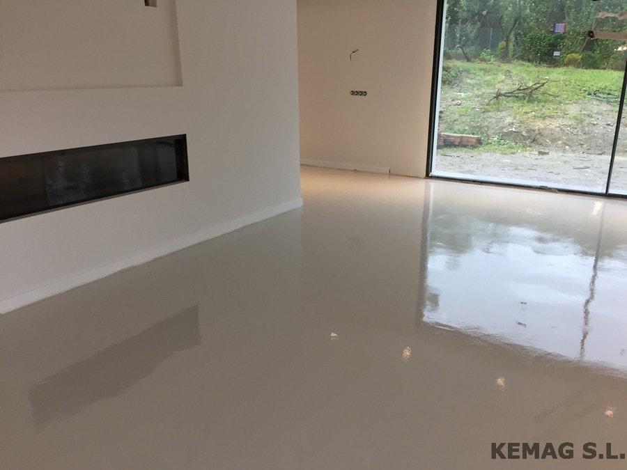 Pavimento continuo decorativo archivos kemag pavimentos - Microcemento para suelos ...