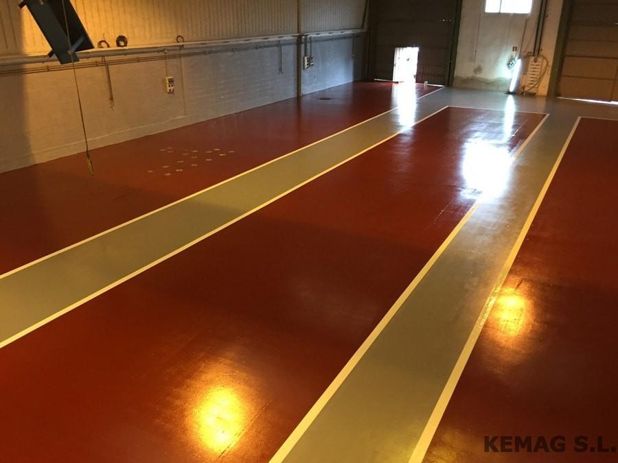 Aplicaci n vermiculita archivos kemag pavimentos - Pintura de suelo ...