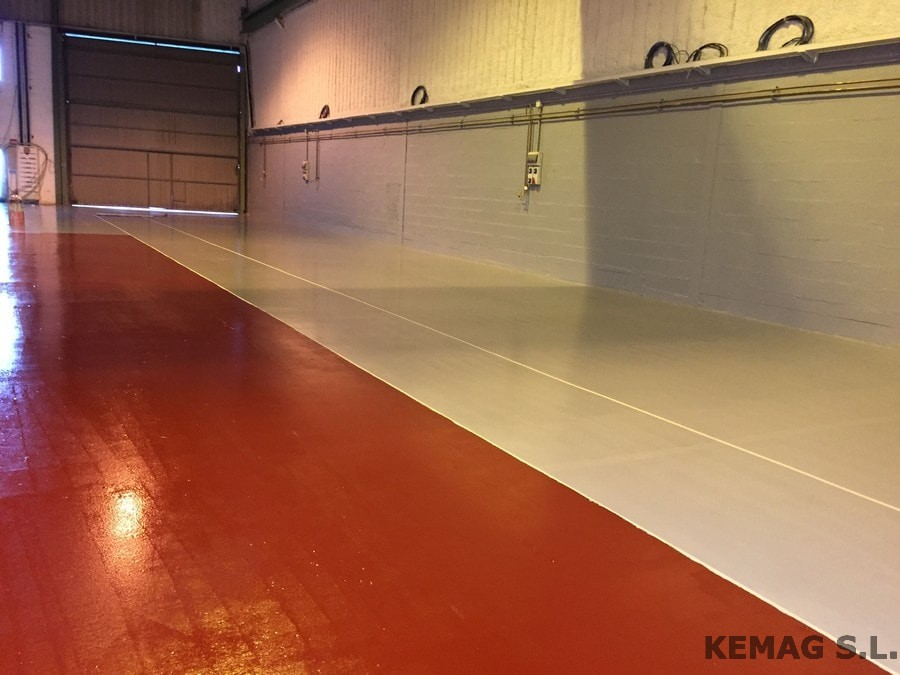 Aplicaci n vermiculita archivos kemag pavimentos - Pintura epoxi suelos ...