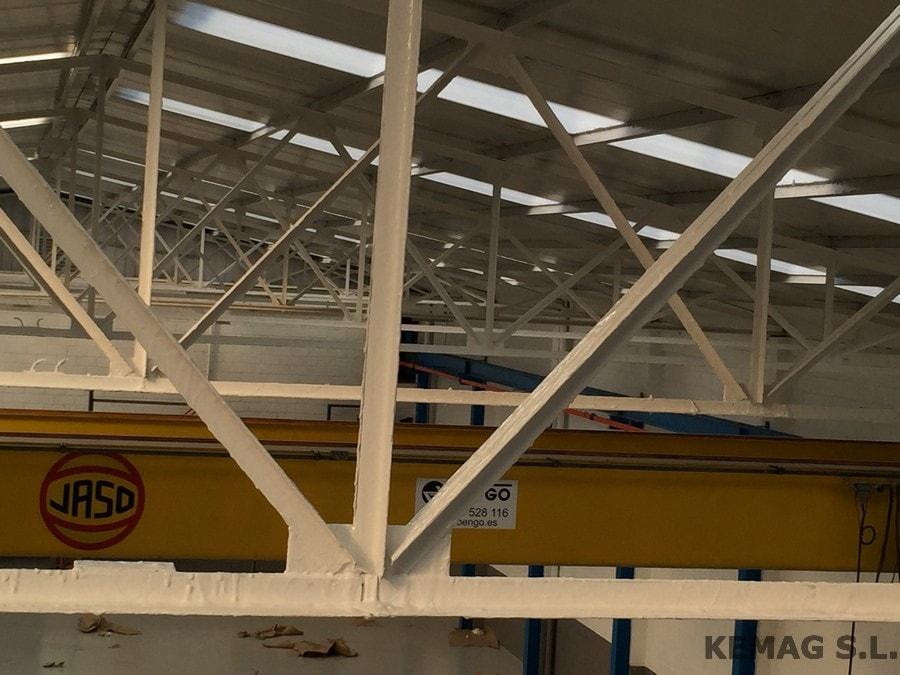 Vigas de hierro de ocasion para naves simple en for Naves prefabricadas de ocasion