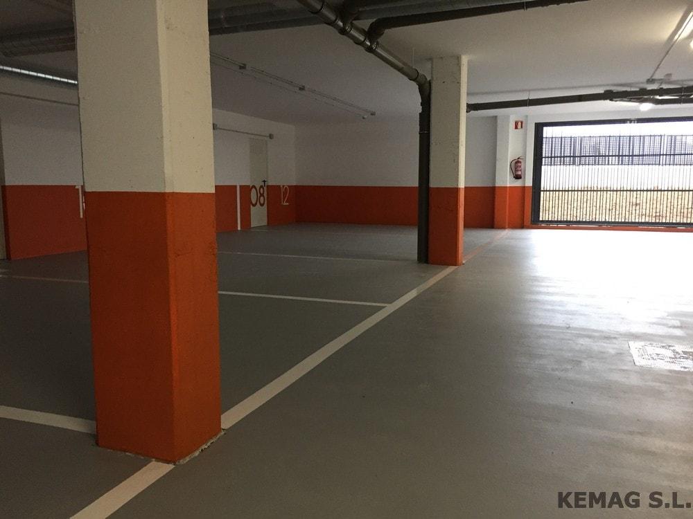 Pintura en parking y garajes archivos kemag pavimentos - Pintura suelo parking ...
